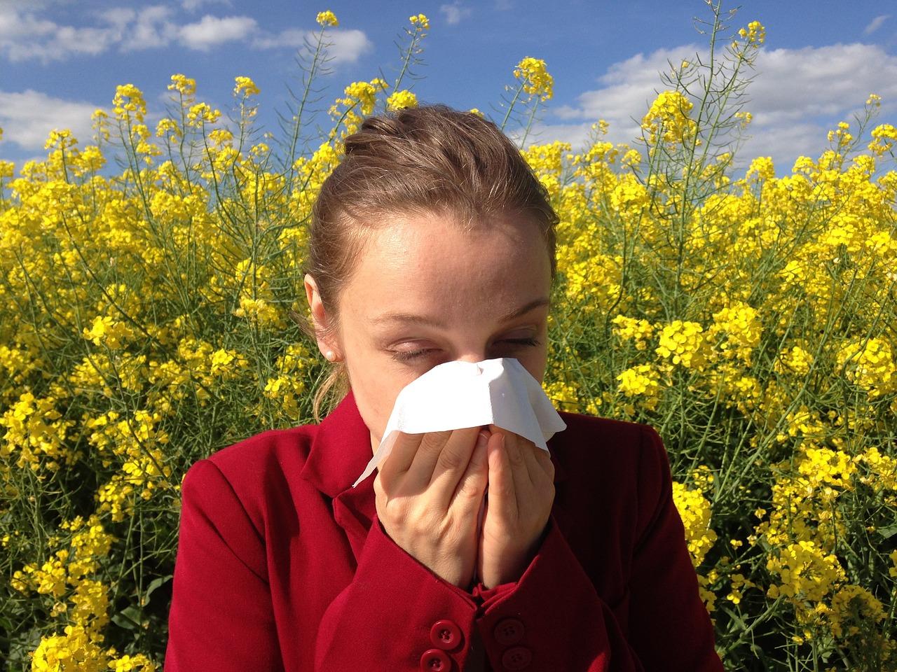 alergia i katar