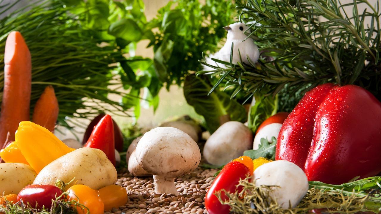 Ciekawe produkty dla wegetarian żywność bio