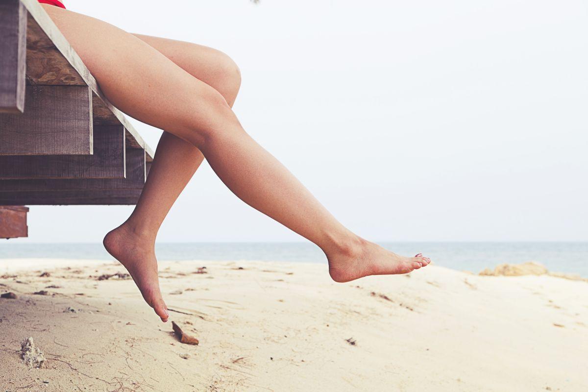 nogi bez zylakow